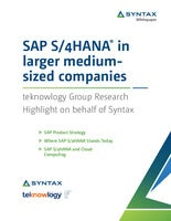 SAP S/4HANA® in Larger Medium-Sized Companies