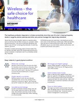 Wireless – the safe choice for healthcare