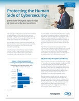 Protecting the Human Side of Cybersecurity