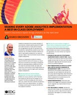 Making Every Adobe Analytics Implementation a Best-in-Class Deployment
