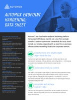 Automox Endpoint Hardening: Data Sheet