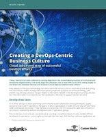Creating a DevOps-Centric Business Culture