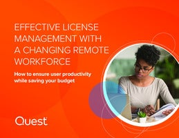Effective License Management with a Changing Remote Workforce