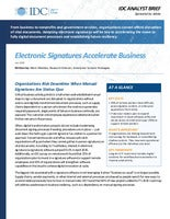 Electronic Signatures Accelerate Business