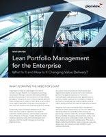Lean Portfolio Management for the Enterprise