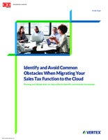 Common Obstacles When Migrating Tax Functions to the Cloud