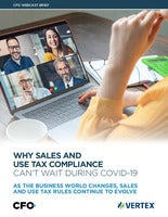Why Sales & Use Tax Compliance Can't Wait