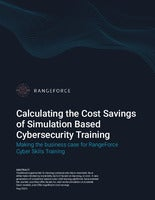 Calculating the Cost Savings of Simulation Based Cybersecurity Training