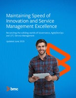 Maintaining Speed of Innovation and Service Management Excellence