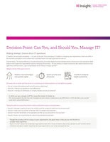 How to efficiently manage IT