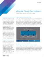 VMware Cloud Foundation 4 Hybrid Cloud Platform