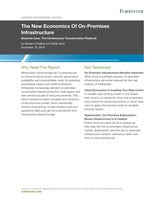 "Forrester report: ""The New Economics Of On-Premises Infrastructure"""