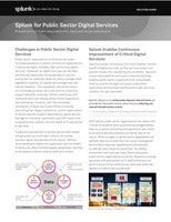 Splunk for Public Sector Digital Services
