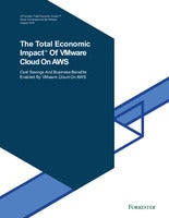 The Total Economic Impact Of VMware Cloud On AWS
