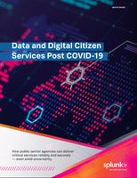 Data and Digital Citizen Services Post COVID-19