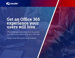 Get an Office 365 experience your users will love