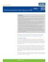 Advanced Authentication Buyer's Guide