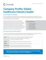 Case Study: Global healthcare industry leader