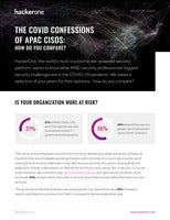 The COVID Confessions of APAC CISOs: How do you compare?