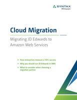 Cloud Migration Whitepaper: Migrating JD Edwards to Amazon Web Services