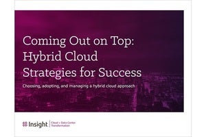 Coming Out on Top: Hybrid Cloud Strategies for Success ebook