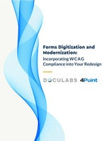 Forms Digitization and Modernization: Incorporating WCAG Compliance into Your Redesign
