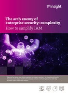 The arch enemy of enterprise security: complexity
