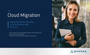 Migrating Oracle E-Business Suite to Amazon Web Services