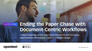 Buyer's Guide: Ending the Paper Chase with Document-Centric Workflows