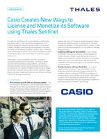 Casio Creates New Ways to License and Monetize its Software