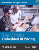 Embedded BI Software Tools: Top 7 Pricing Guide