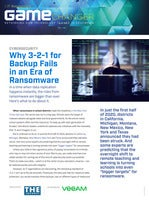 Why 3-2-1 for Backup Fails in an Era of Ransomware