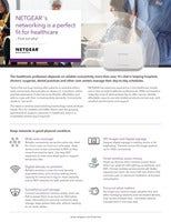 NETGEAR's networking is a perfect fit for healthcare