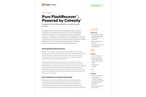 All-Flash Data Protection for Rapid Recovery at Scale