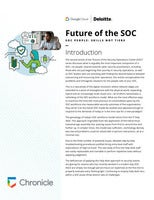 Deloitte + Google Cloud: Future of the SOC Part 2