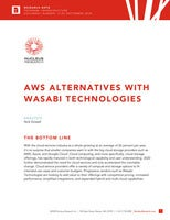 Wasabi Technologies is an Alternative to AWS