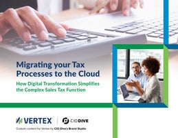 Migrating your Tax Processes to the Cloud