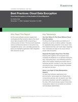 Best Practices: Cloud Data Encryption