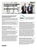 Accelerate your digital workplace with 5G
