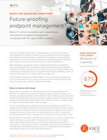 Future-proof Your Endpoint Management