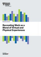 Recreating Work as a Blend of Virtual and Physical Experiences
