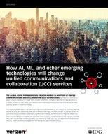 How AI, ML, and other emerging technologies will change unified communications and collaboration (UCC) services