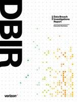 2020 Data Breach Investigations Report- Executive Summary