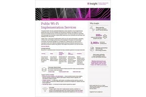 Public Wi-Fi Services solution brief