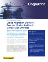 Cloud Migration Delivers Process Modernization to Danzas AEI Emirates