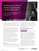 Productive AI: How to Achieve Operational and Business Value