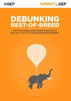 Debunking Best-of-Breed: Why the Single-Software Strategy is the Only Way to Transform Procurement