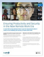 Ensuring Productivity and Security in the New Remote Work Era
