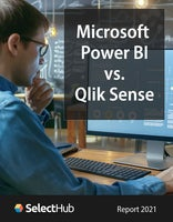 Microsoft Power BI vs. Qlik Sense—Expert Reviews, Ratings & Recommendations 2021