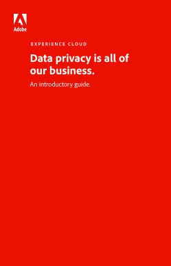 Data privacy is all of our business. An introductory guide.